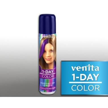 Тонирующий Оттеночный спрей VENITA  1-DAY COLOR 10 фиолетовая аура  50 мл