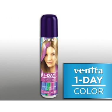 Тонирующий Оттеночный спрей VENITA  1-DAY COLOR  13 магично розово фиолетовый  50 мл