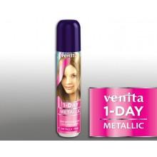 Тонирующий Оттеночный спрей VENITA  1-DAY COLOR  1 металлик розовый 50 мл