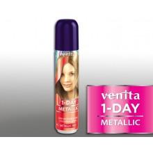 Тонирующий Оттеночный спрей VENITA  1-DAY COLOR  2 металлик красный 50 мл