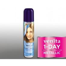 Тонирующий Оттеночный спрей VENITA  1-DAY COLOR  4 металлик синий джинс 50 мл
