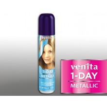 Тонирующий Оттеночный спрей VENITA  1-DAY COLOR 3 металлик голубой 50 мл