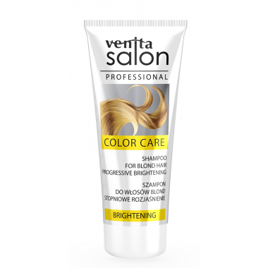 Шампунь VENITA SALON  BRIGHTENING  для  белых волос - 200 мл
