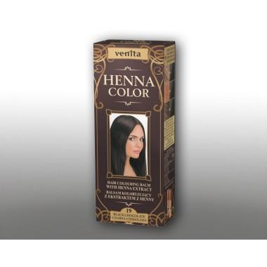 Красящий травяной бальзам VENITA Henna Color №19 Черный шоколад  50 мл