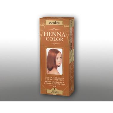 Красящий травяной бальзам VENITA Henna Color №7 Медь 50 мл