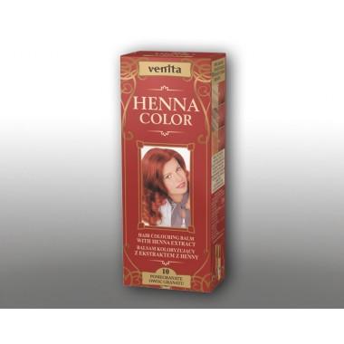 Красящий травяной бальзам VENITA Henna Color №10 Гранат  50 мл