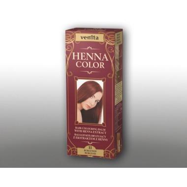 Красящий травяной бальзам VENITA Henna Color №11 Бургунд  50 мл