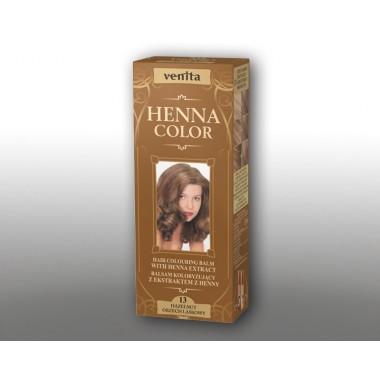 Красящий травяной бальзам VENITA Henna Color №13 Светло-коричневый  50 мл