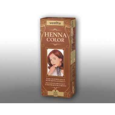 Красящий травяной бальзам VENITA Henna Color №8 Рубин 50 мл