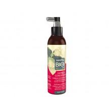 БІО-Експрес-Кондиціонер Спрей 98% нат,,гідролат Троянда +Льон (сухе та фарбоване волосся)200 мл