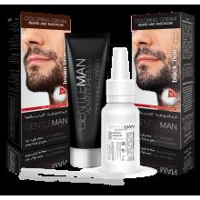 Крем-краска для бороды и усов черная