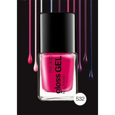 Лак для ногтей Gloss Gel Ingrid Nails 532