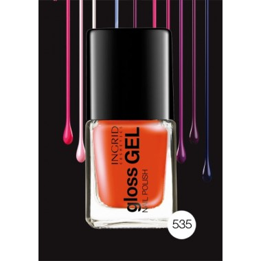 Лак для ногтей Gloss Gel Ingrid Nails 535