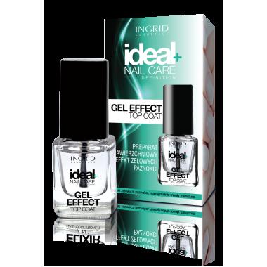 Покрытие с эффектом гелевых ногтей Gel Effect Top Coat Ingrid