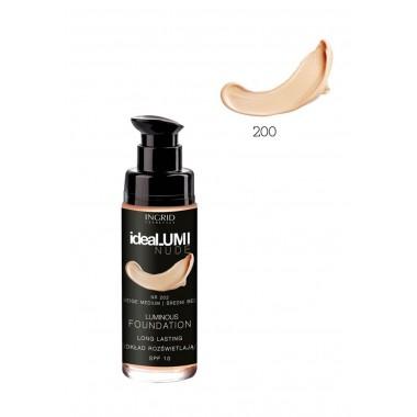 Рассветляющий тональный крем №200 Ideallumi Nude Ingrid