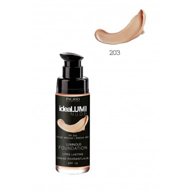 Рассветляющий тональный крем №203 Ideallumi Nude Ingrid
