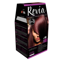 Крем-краска для волос Revia 08