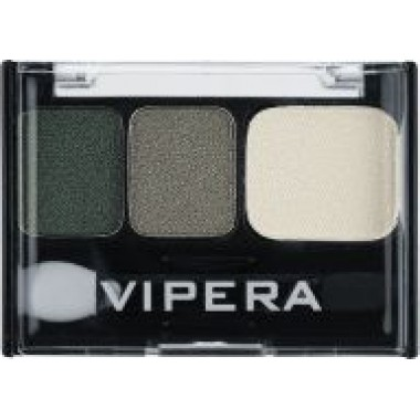Тени 3-цвета VIPERA TIP-TOP с нейлоном и силиконом с  аппликатором № 145Q 3 гр