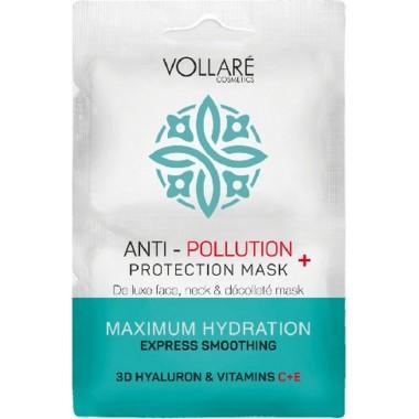 VOLLARE COSMETICS - MULTI-ACTIVE DETOX – САШЕ ANTI-POLLUTION Увлажняющая маска 2 шт*5 мл.