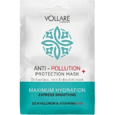 VOLLARE COSMETICS - MULTI-ACTIVE DETOX – САШЕ ANTI-POLLUTION Увлажняющая маска 2 шт*5 мл.