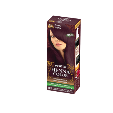Красящий мусс VENITA HENNA COLOR  № 12 Вишня 75 мл