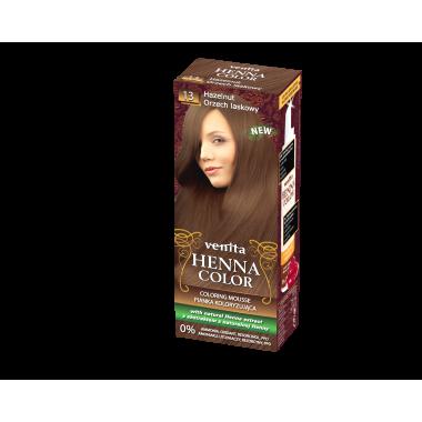 Красящий мусс VENITA HENNA COLOR  № 13 Лесной Орех 75 мл