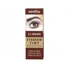 Краска-порошок  для бровей VENITA  TINT коричневая  10гр.