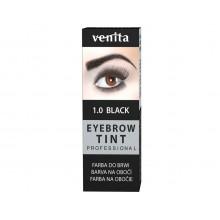 Краска-порошок  для бровей VENITA  TINT черная  10гр.
