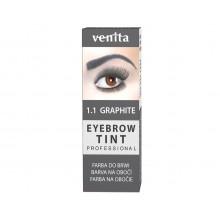 Краска-порошок  для бровей VENITA  TINT графит  10гр.