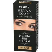 Краска-крем  для бровей VENITA  TINT черная   30гр.