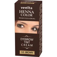 Краска-крем  для бровей VENITA  TINT коричневая   30гр.