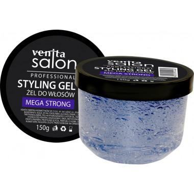 Гель стилизирующий VENITA SALON  Mega strong  для волос  150 гр