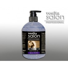 Гель стилизирующий VENITA SALON  Mega strong  для волос  500 гр