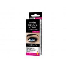 Краска-гель  для ресниц и  бровей VENITA  TINT черная   30гр.