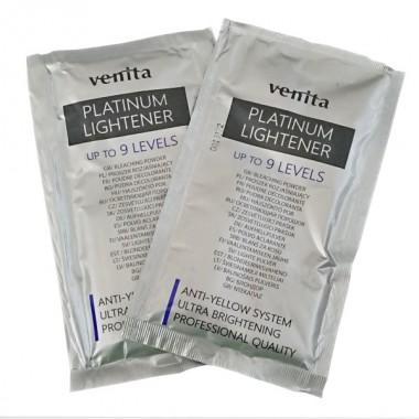 Осветлитель-порошок  для волос  Platinum Lightener 9 уровней  САШЕТ   40 гр