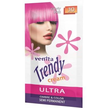 Красящий крем VENITA TRENDY CREAM № 30 Ярко розовый САШЕТ 35 мл