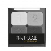 Тени для век ART CODE №01