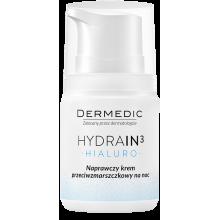 Крем от морщин ночной восстанавливающий с OMEGA 3,6,9 DERMEDIC HYDRAIN 3 HIALURO